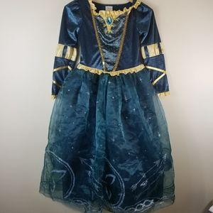 Disney Store Princess Merida dress from Brave 9/10